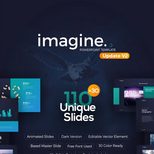 Imagine PowerPoint Template