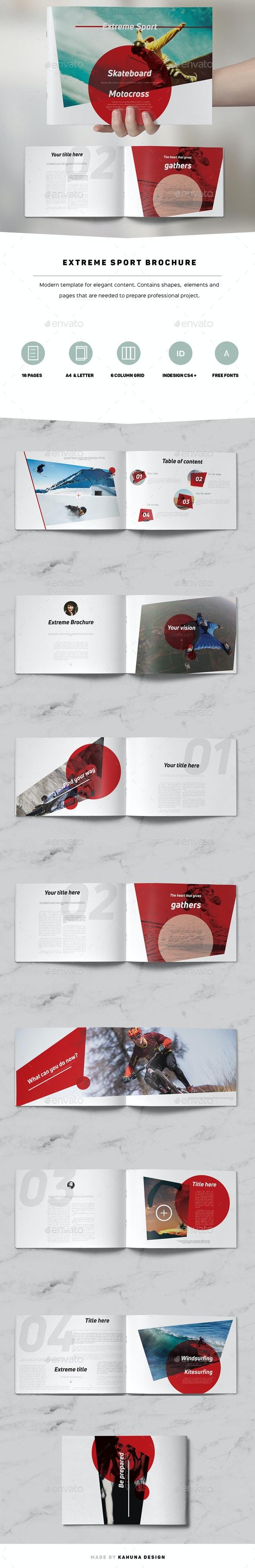 Extreme Sport Landscape Brochure - Catalogs Brochures