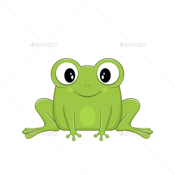 Green Frog - Animals Characters