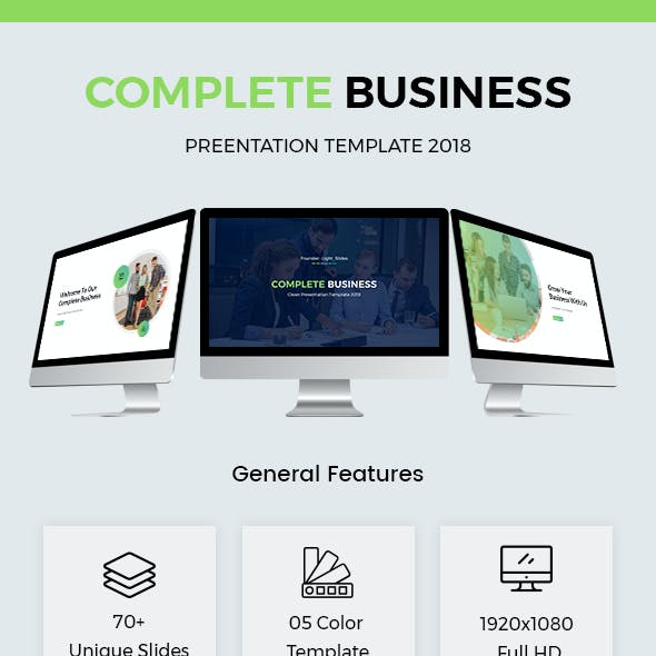 Complete Business Powerpoint Template 2018