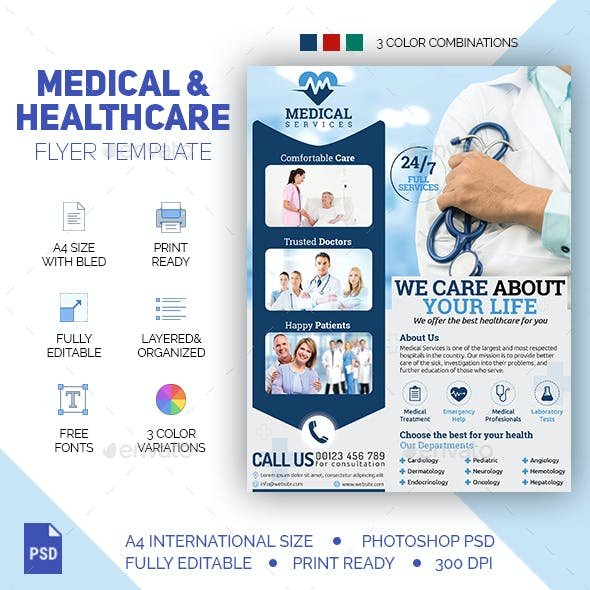 Medical & Healthcare Flyer