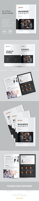 Bi-Fold Brochure Design - Brochures Print Templates