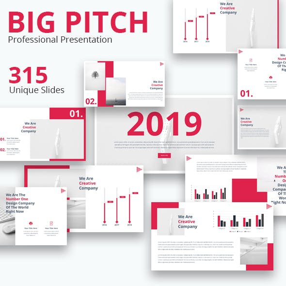 Big Pitch Powerpoint Presentation Template