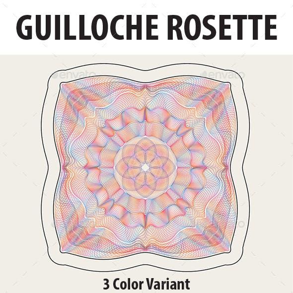 Guilloche Rosette Part 1