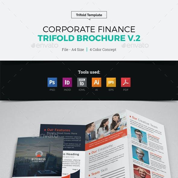 Corporate Finance Trifold Brochure v2