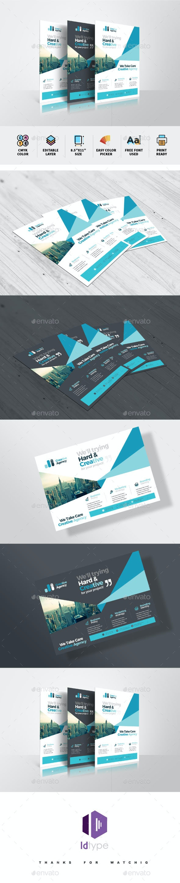 Creative Flyer - Corporate Flyers