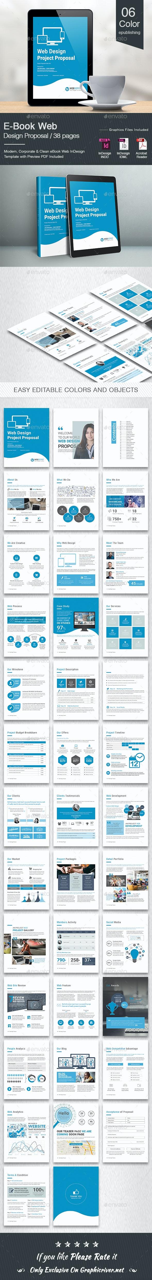 E-Book Web Design Proposal - Digital Books ePublishing