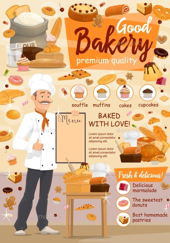 Bakery Food - Food Objects