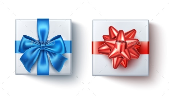 Vector Satin Bow Knot for Celebration Holiday - Miscellaneous Seasons/Holidays