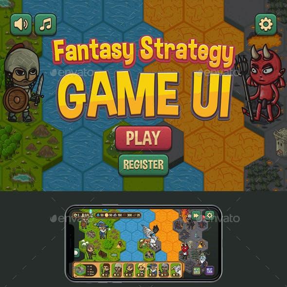Fantasy Strategy GUI