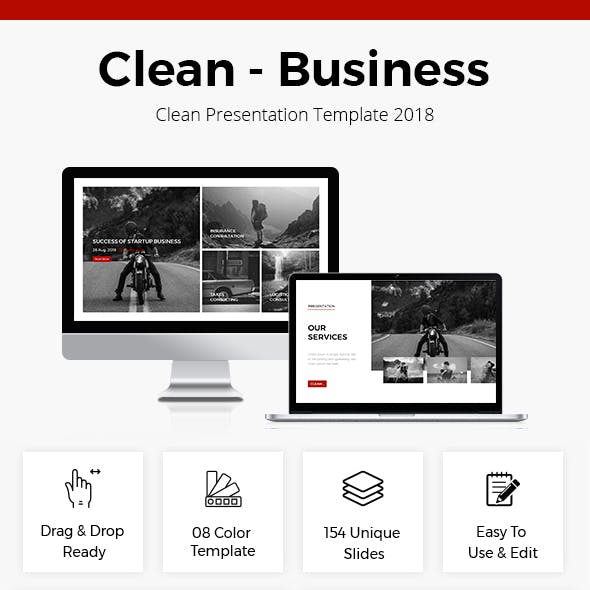 Business Google Slides Template 2018