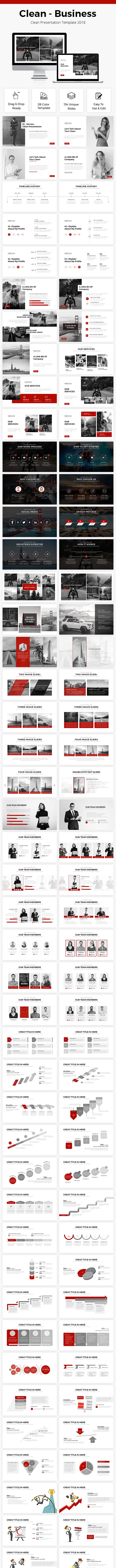Business Google Slides Template 2018 - Google Slides Presentation Templates