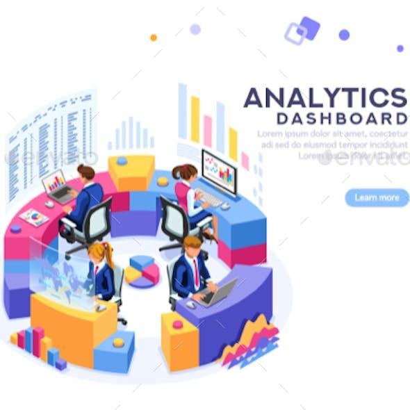Analytics Dashboard Template Banner