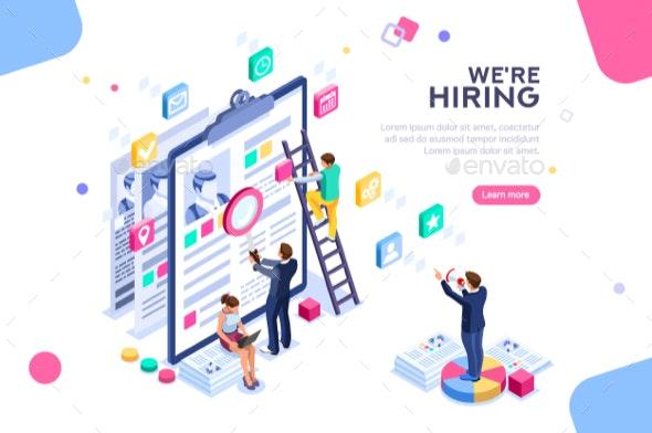 Job Presentation Template - Concepts Business