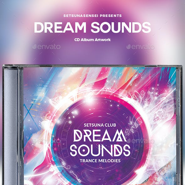 Dream Sounds CD Album Artwork