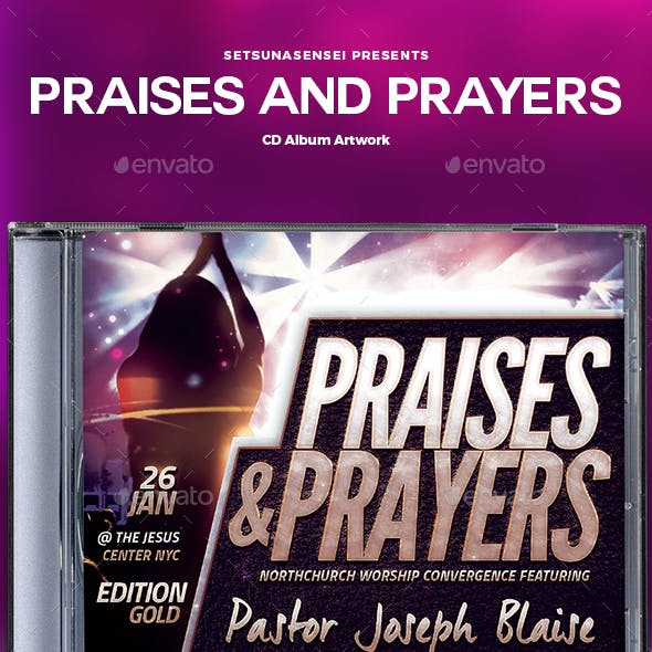 Praises and Prayers CD Album Artwork