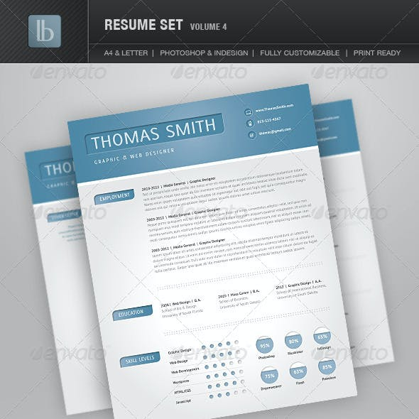 Resume Set | Volume 4