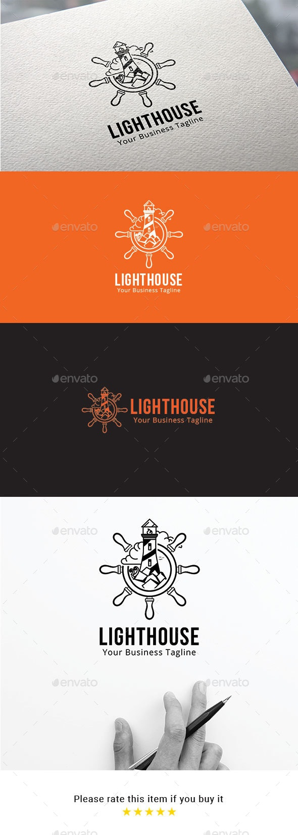 Light house Logo - Company Logo Templates