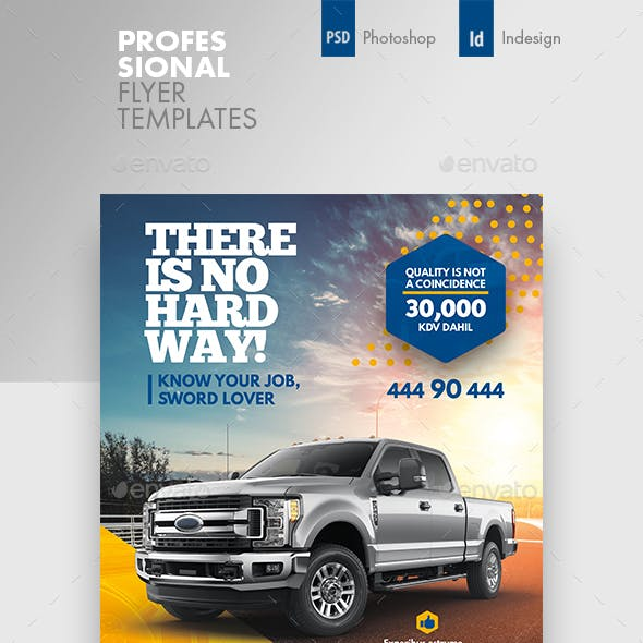 Car Sales Flyer Templates