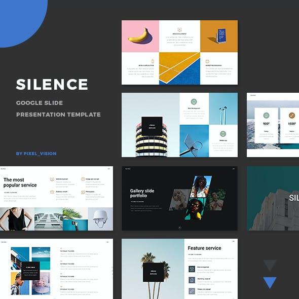 Silence Google Slide Template