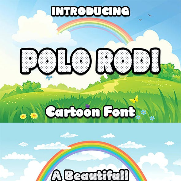 Polo Rodi Cartoon Font
