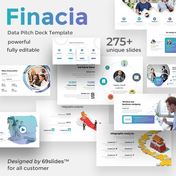 Finacia Pitch Deck Google Slide Template