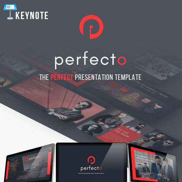 Perfecto Presentation Keynote Template Modern Concept