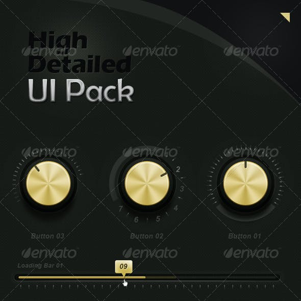 High Detailed UI Pack