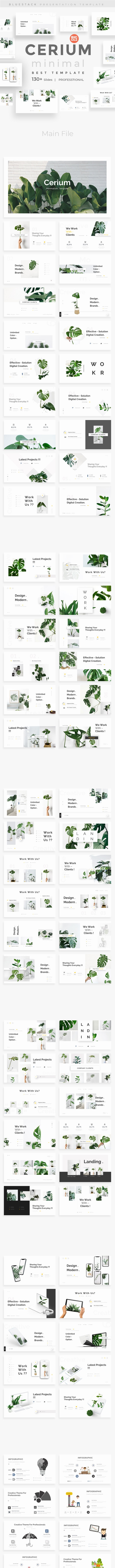 Cerium Minimal Powerpoint Template - Creative PowerPoint Templates
