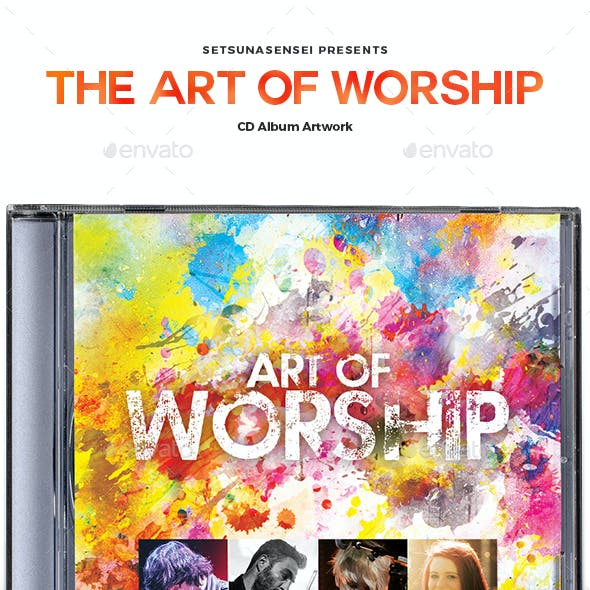 Art of Worship CD Album Artwork