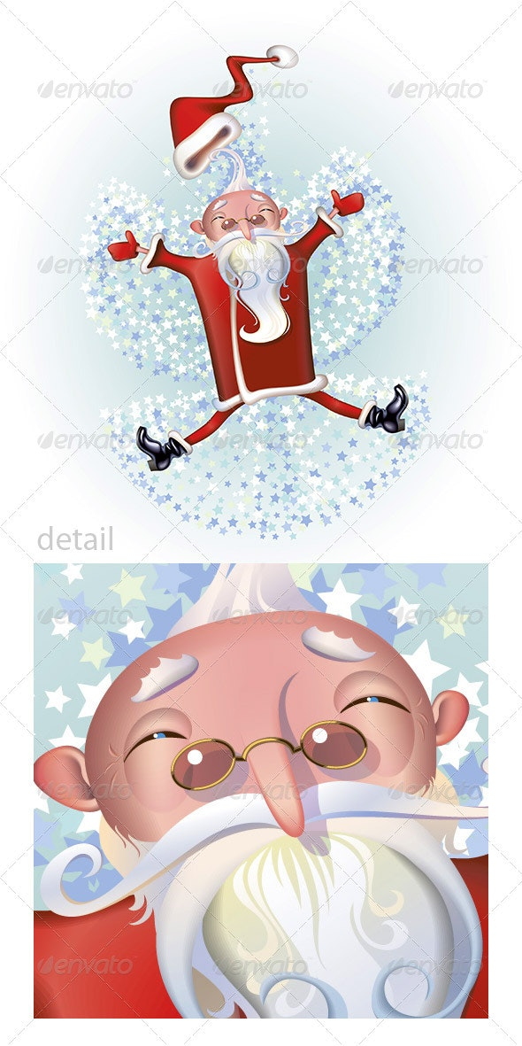 Santa the angel - People Characters