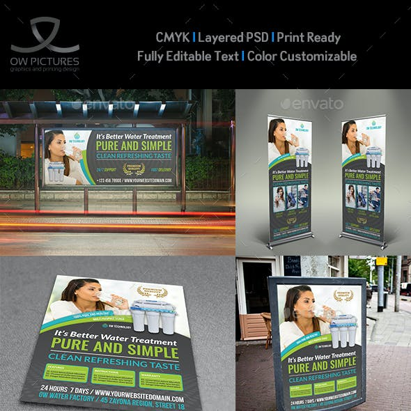 Water Treatment Services Advertising Bundle