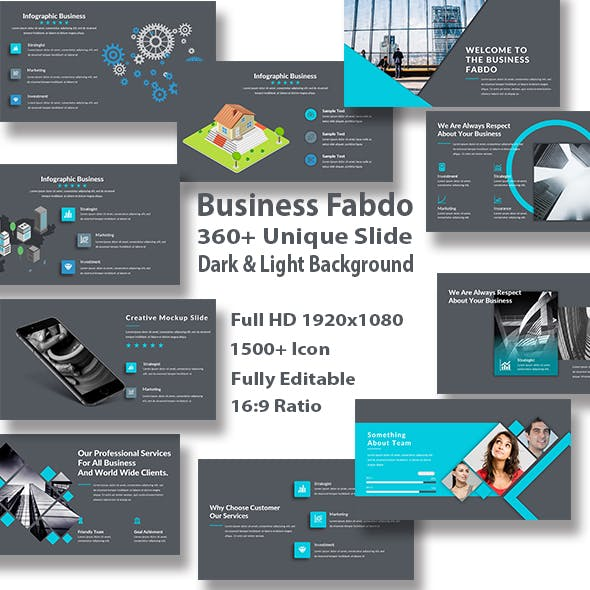 Business Fabdo PowerPoint Template