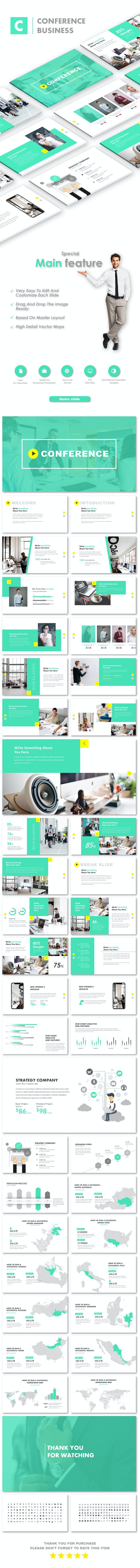Conference Business PowerPoint Templates - Business PowerPoint Templates