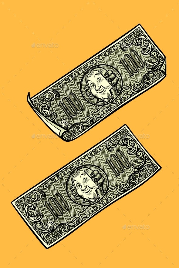 Dollars Banknotes - Man-made Objects Objects