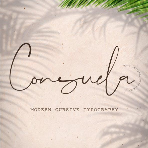 Consuela Script Font