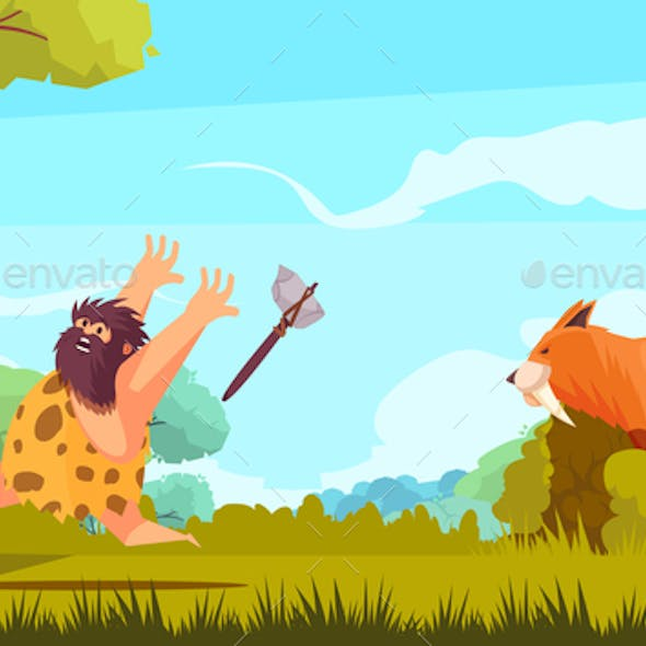 Hunting in Stone Age
