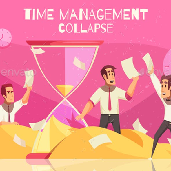 Business Concept with Hourglass