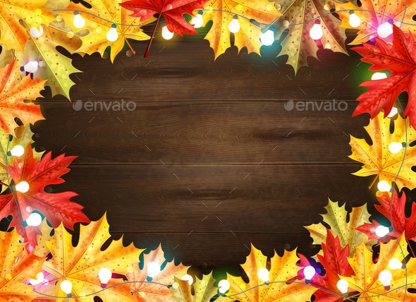 Thanksgiving Day Stylish Frame - Borders Decorative
