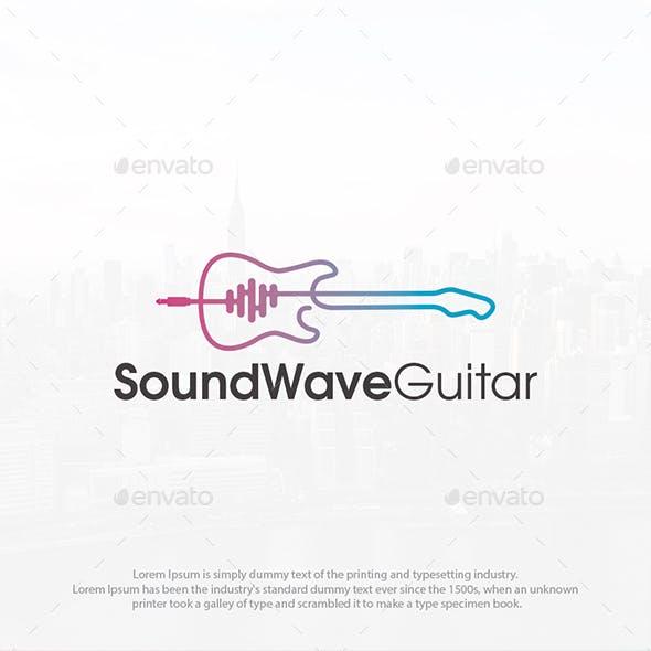 Guitar Sound Wave Logo
