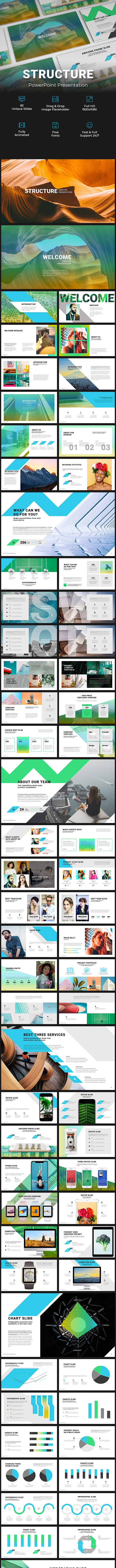 Structure PowerPoint Presentation - PowerPoint Templates Presentation Templates