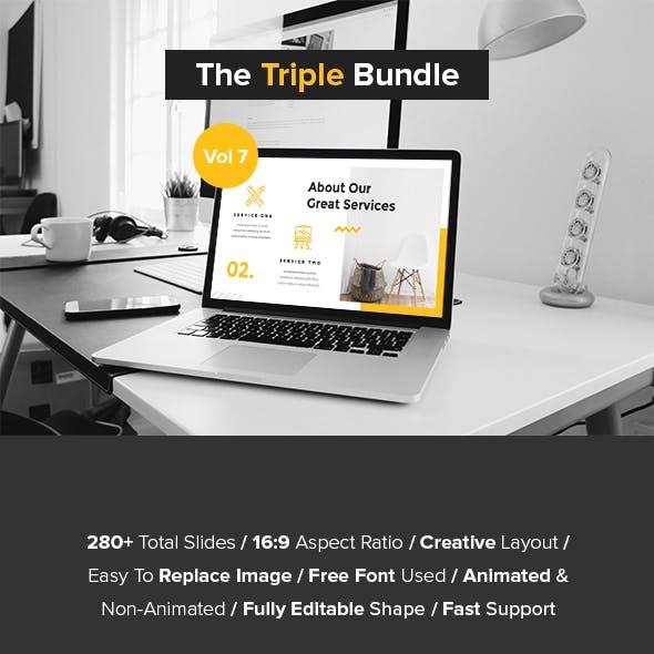The Triple Bundle PowerPoint Vol 7