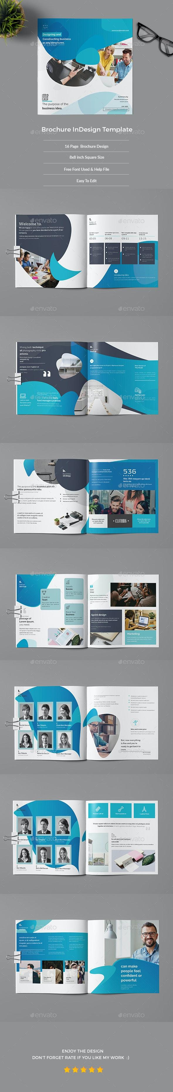 Brochure Indesign Template - Corporate Brochures
