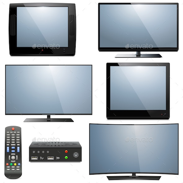 Vector Analog and Digital Televisions - Computers Technology