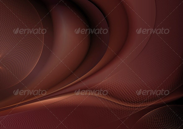 Chocolate abstract - Backgrounds Decorative