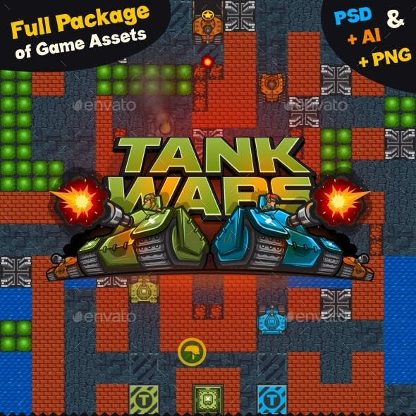 Game Assets for Tank Wars