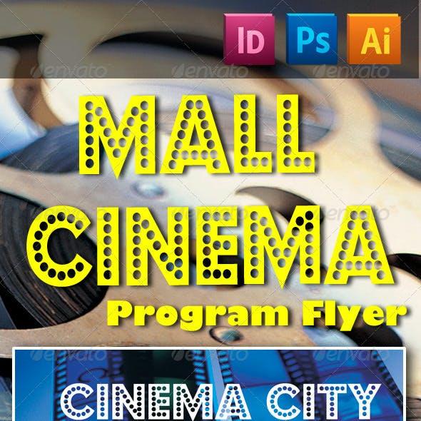 Mall Cinema Program Flyer