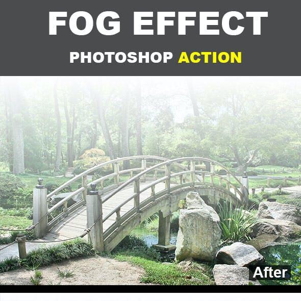 Fog Effect Photoshop Action