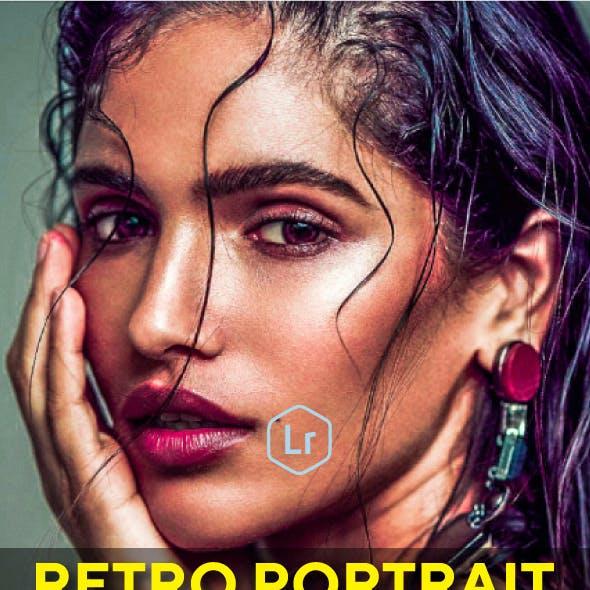 18 Retro Portrait Lightroom Presets
