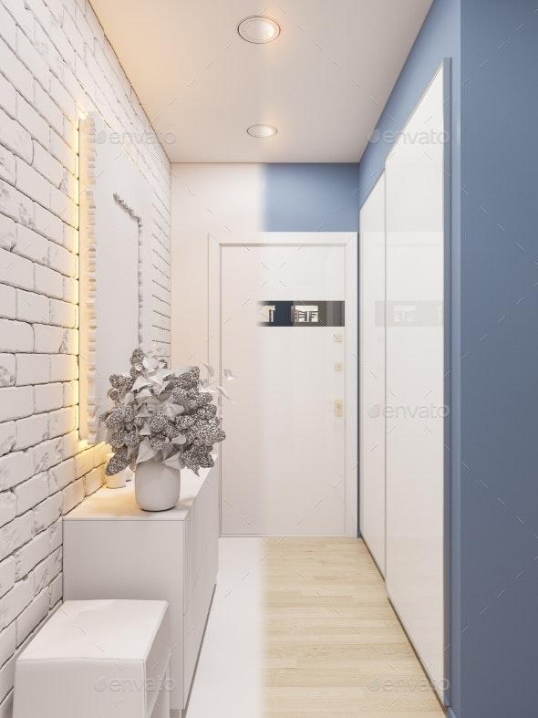 3d Illustration of the Interior Design - Architecture 3D Renders